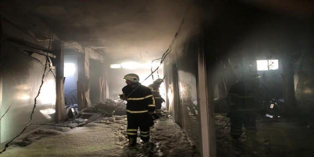 Samandağındaki yangına Hatay Büyükşehir belediyesi itfaiyesi anında müdahale etti