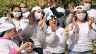Hatay Büyükşehir Belediyesi Down  sendromlu çocukları unutmadı