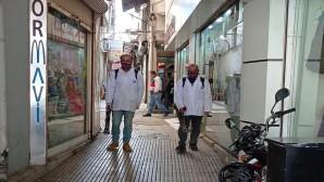 Antakya Belediyesinden Mavi olmak için dezenfekteye devam