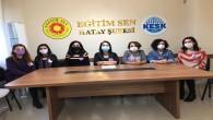 Hatay Eğitim Sen Kadın Meclisi: İstanbul Sözleşmesi Kırmızı Çizgimizdir!