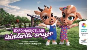 EXPO Moskotları isimlerini arıyor