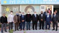 Hatay Saadet  Partisi'nden  İYİ Parti İl Başkan Çirkin'e hayırlı olsun ziyareti