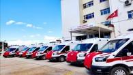 Hatay'a 7 acil Ambulans