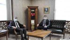 Başsavcı Ahmet Ataman'dan SGK İl Müdürü Hamit Bal'a ziyaret