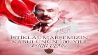 Atakaş Hatayspor: İstiklalMarşı 'mızın Kabulü'nün 100. yılı kutlu olsun!