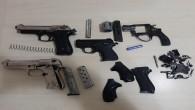 İskenderun'da Uyuşturucu tacirlerinde 4 tabanca yakalandı