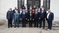 İyi Parti Genel Başkan Yardımcısı Şenol Sunat'tan Başkan Savaş'a ziyaret