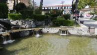 Atatürk Parkında bulunan havuzlardaki suyun kokusu  çevreyi rahatsız ediyor