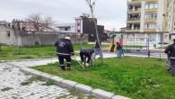 Antakya Belediyesinin park ve yeşil alanlarda bakım ve onarım çalışmalarını sürdürüyor
