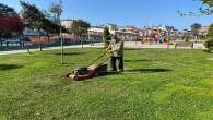 Park ve Yeşil alanlarda bakım ve onarım çalışmaları devam ediyor