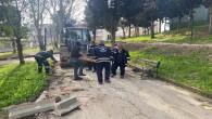 Antakya Belediyesi Park ve Yeşil alanlarda Bakım ve narım çalışmalarına devam ediyor