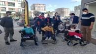 Rotary Kulübünden  Spina Bifida Hastası çocuklara Akülü Sandalye