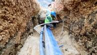 Samandağ Tekebaşı'na Temiz ve kayıpsız su iletimi