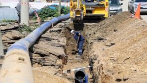 HAT SU: Samandağ Tekebaşı eski su şebekesi yenileniyor