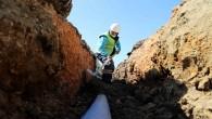 HAT SU: Samandağ Tomruksuyu'nda yetersiz gelen şebeke yenileniyor