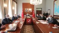 Vali Rahmi Doğan PAC Meydanı Camii Toplantısına başkanlık yaptı
