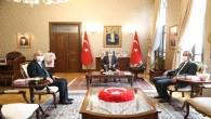 Bakan Yardımcısı Mahmut Özer'den Vali Rahmi Doğan'a Ziyaret