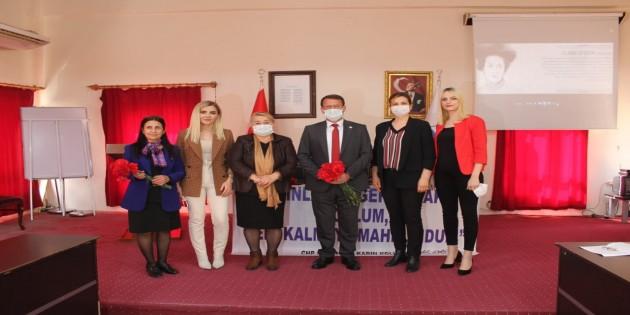 Samandağ Belediye Başkanı Av. Refik Eryılmaz Dünya Emekçi Kadınlar Gününü Kutladı