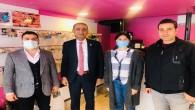 Defne Belediye Başkanı İbrahim Güzel'den esnaf ziyaretlerine devam