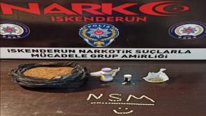 İskenderun ilçesinde yapılan uyuşturucu operasyonunda 21 kişi yakalandı