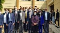 CHP milletvekillerinden Başkan Eryılmaz'a ziyaret