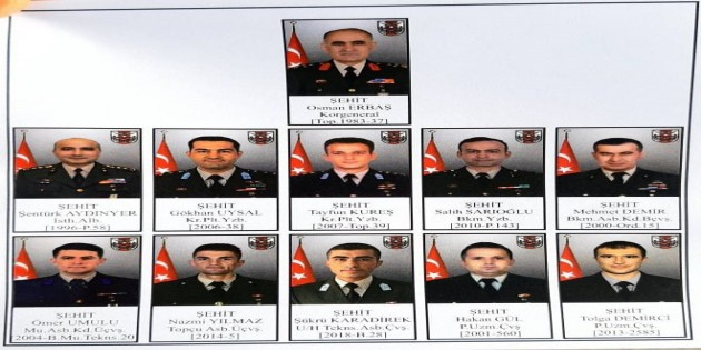 Bitlis Tatvan şehitleri toprağa verilmeye başlandı
