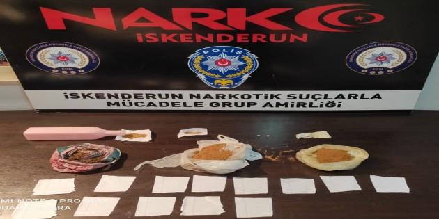 İskenderun'da Uyuşturucu satıcılarına yönelik bir operasyon daha: 33 gözaltı