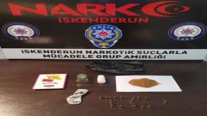 Sıvı uyuşturucu maddesi satan kişiye Polis operasyonu