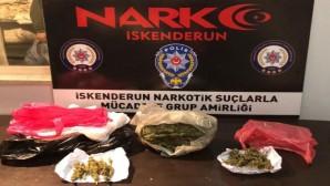 Uyuşturucu satıcılarına operasyon: 1 kilo 45 gram esrar yakalandı