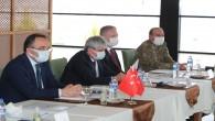 Hatay Valisi Rahmi Doğan Suriye Görev Gücü Koordinasyon Toplantısına katıldı