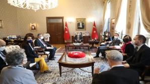 Vali Rahmi Doğan Avrupa Birliği  Delegasyonu 'nu Kabul Etti