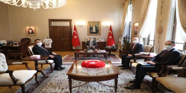 Moldova Büyükelçisinden Vali Doğan'a ziyaret