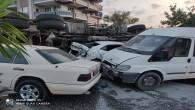 Hatay'da Freni Boşalan Kablo Yüklü Vinç Dehşet Saçtı: 4 Ölü 6 Yaralı