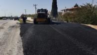 Antakya Belediyesi altyapı çalışmaları tamamlanan yolları asfaltlamaya devam ediyor