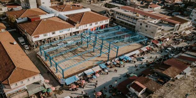 Antakya Belediyesi Eski Çukobirlik Pazar Yerini Yenileyerek Modern Hale Getiriyor