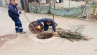 HAT SU: Atık Su hatlarında temizlik sürüyor