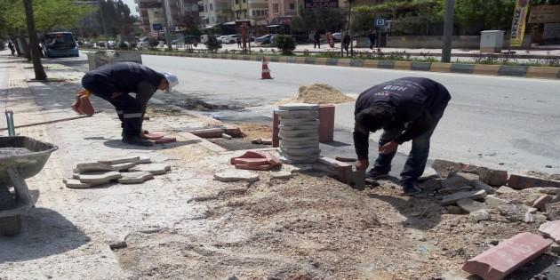 Hatay Büyükşehir Belediyesi üst yapı çalışmalarında hız kesmiyor