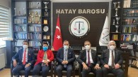 CHP Milletvekillerinden  Baro Başkanı Açıkalın'a tebrik ziyareti