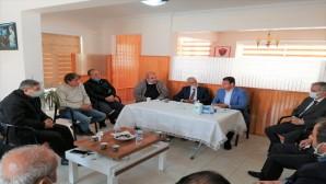 Samandağ Belediye Başkanı Av.Refik Eryılmaz Esnaf Ve Sanatkarlar Odasını Ziyaret Etti