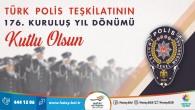 Başkan Savaş: Ülkemizdeki huzur ve emniyeti 176 yıldır sağlayan Polis teşkilatı, her zaman güvene açılan kapımız olmuştur!