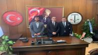 Hatay Barosu Başkanı Av. Cihat Açıkalın ekibiyle birlikte mazbatalarını aldı