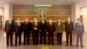 Başkan İzzettin Yılmaz Ankara'da