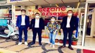 CHP Erzin ve Kırıkhan Gençlik Kollarından Esnaf ziyareti