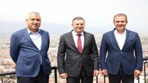 Hatay, Adana ve Mersin Büyükşehir Belediye Başkanlarından CHP Genel Başkanı Kemal Kılıçdaroğlu'na destek!