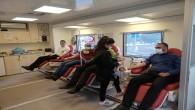Hatay DEVA Partisinden Kızılaya kan bağışı