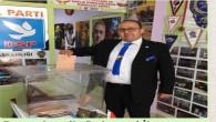 Muchael Yuhanna James Aşkar DSP İskenderun ilçe Başkanlığına seçildi