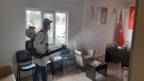 Antakya Belediyesi Şehir genelindeki Dezenfekte çalışmalarını sürdürüyor