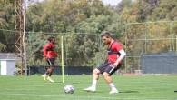 Atakaş Hatayspor Göztepe maçı hazırlıklarını tesislerinde sürdürüyor