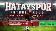 Atakaş Hatayspor Futbol Okulu kayıtları bugün  başladı