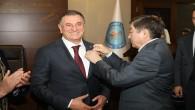 Türki Devletlerden Başkan Savaş'a Abay Madalyası